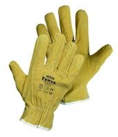 556b73dd576 HERON pracovní rukavice rukavice z vepřové lícové kůže